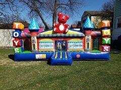 Inflatable Toy Town Toddler Play Land