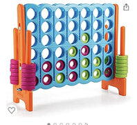 Connect Four Baby Blue
