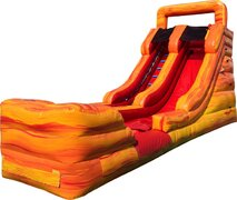 15' Fireball Water Slide