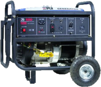 Generator/ full tank of gas 3250 Watts