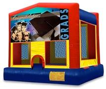 Graduation Themed Bounce Houses