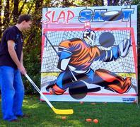 Frame Game Slap Shot Hockey