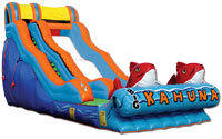 18' Big Kahuna Inflatable Water Slide