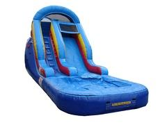 10' Inflatable Water Slide with pool