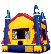 USA Rocket Bounce House