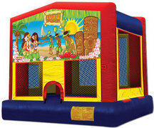 Luau Themed Bounce House