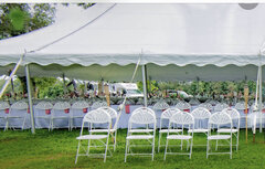 TENTS-TABLES-CHAIRS PACKAGE