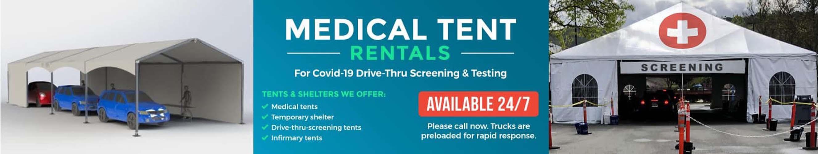 Long Island Medical Tents