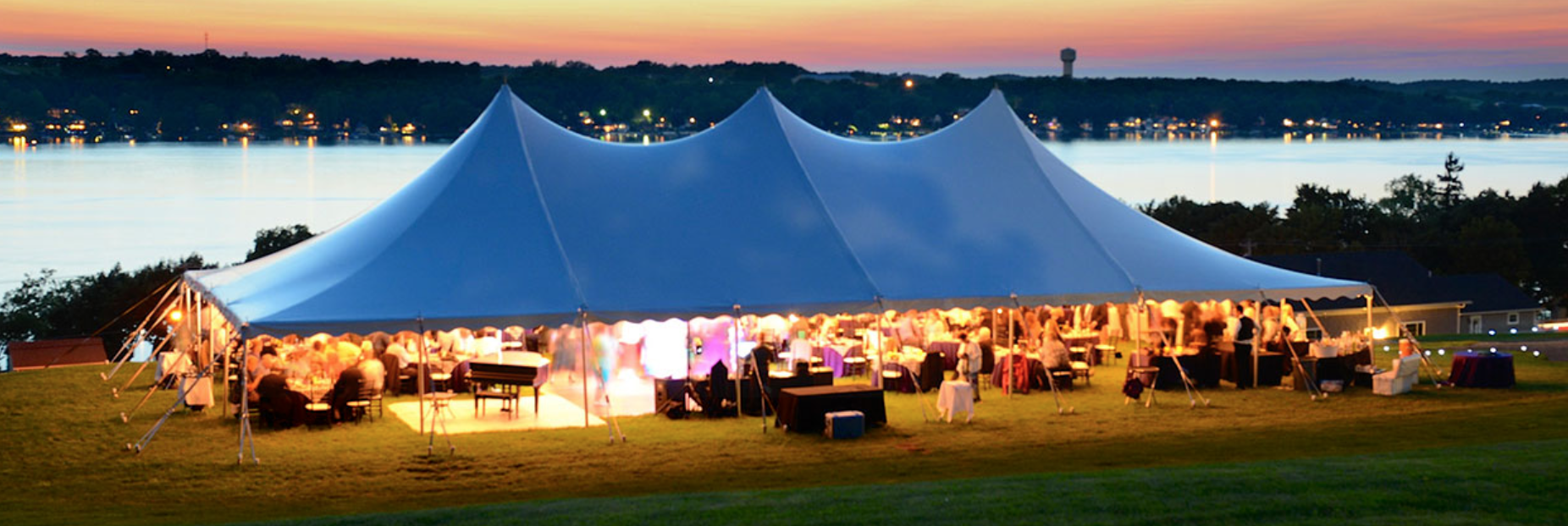 Rope & Pole Tent Rentals