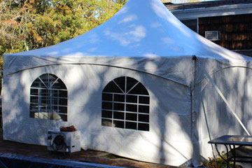 tent accessory rental