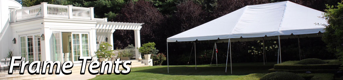 Frame Tent Party Packages