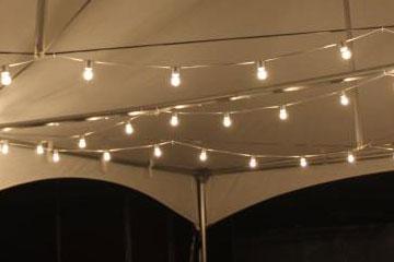 Tent Lighting Rentals