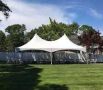 20' x 30' High Peak Frame Tent (White)