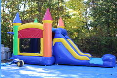 Castle Bounce House/Slide Combo