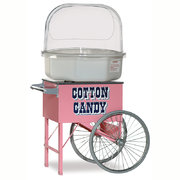 Cotton Candy Machine W/Cart (Serves approx 70ppl)