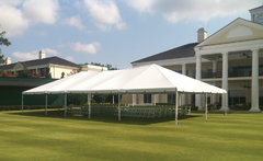 100 Person Frame Tent Package (Single Tent/White)