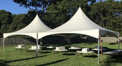 80 Person High Peak Frame Tent Package (White)