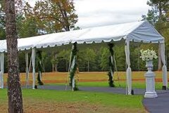 6' x 10' Marquee Frame Tent (White)