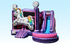 Unicorn Bounce House/Slide Combo (wet or dry)