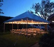 40 Person Frame Tent Package (White)