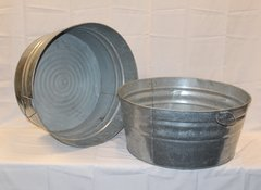 Galvanized beverage tub (uninsulated)