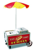 Hot Dog Machine W/Umbrella