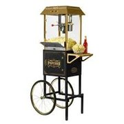 Popcorn Machine w/cart (Serves approx 70ppl)