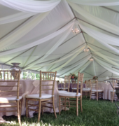 Tent Draping (per sq. foot)