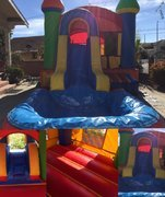 Castle Water Slide & Jumper Combo