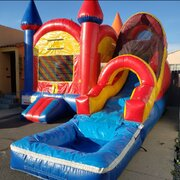 4 in 1 water slide combo jumper