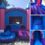 Pink Mini combo water slide