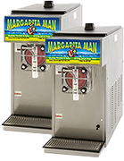 2 Frozen Beverage Machines - Includes 2 Mix, 100 8 oz cups and 2 Margarita Salt