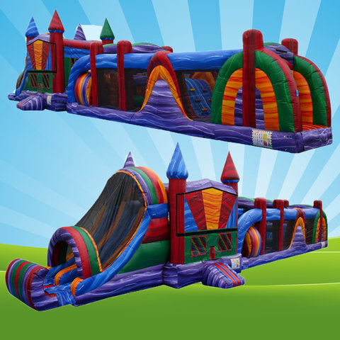 Houston Inflatable Obstacle Course Rentals!