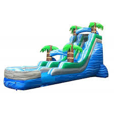 18ft Tropical Slide Wet