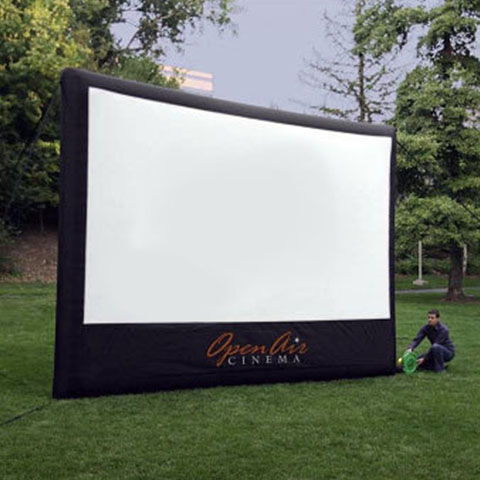 Outdoor Movie Experience Big Screen Rentals