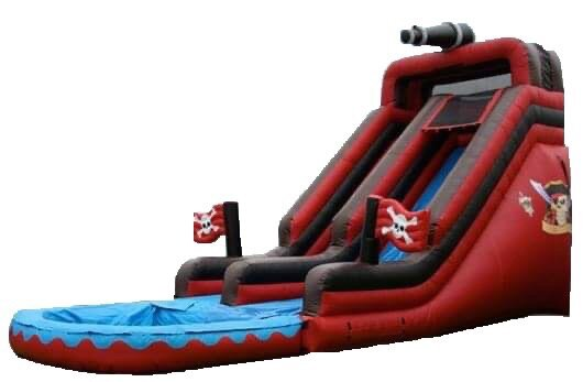 18ft Pirate Splash Water Slide
