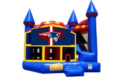 Football Blue Castle 5 in 1 Combo