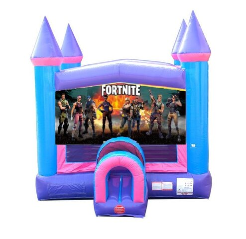 Fortnite Pink Bounce House