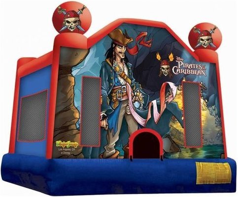 Pirates of Caribbean Bounce House