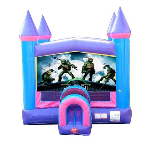 TMNT Pink Bounce House