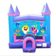 Baby Shark Pink Bounce House