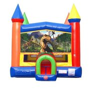 Dino Castle Bounce House
