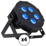 4 Pack Uplighting Kit