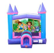 Dora Pink Bounce House