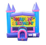 Birthday Pink Bounce House