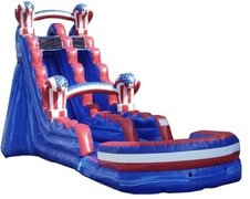 19ft American Knockout Water Slide