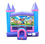 Mario Pink Bounce House