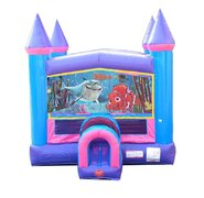 Nemo Pink Bounce House