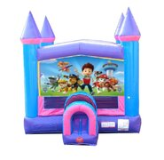 Paw Patrol Pink Bounce House