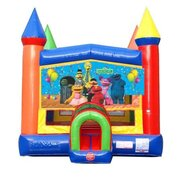 Sesame Bounce House